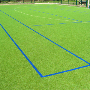 rubber crump synthetic surface